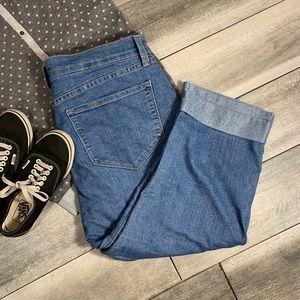 {NYDJ} cropped jeans